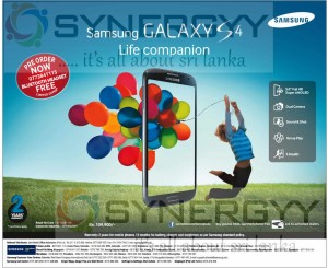 Samsung Galaxy S4 – Pre orders Open Now