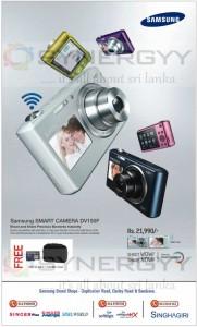 Samsung SMART CAMERA DV150F for Rs. 21,990.00