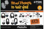TDK Headphone Promotion in Sri lanka – Discounts Upto 25% till 31st April 2013