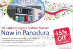 15% off from 11th May to 14th May, 2013 at Nolimit Panadura