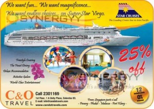 25% off for Star Cruises Trips from Singapore to Port Klang