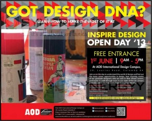A One day Workshop about the Designing on 1st June 2013