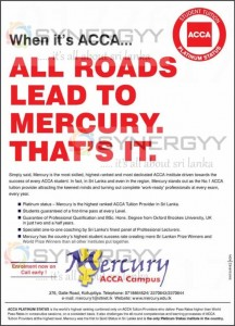 ACCA Tuition providers in Sri Lanka – Mercury ACCA Campus