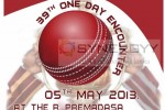 Battle of the Maroons in today 5th May 2013 at Premadasa International Cricket Stadium