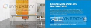 Be Specialize your Workplace with Alpha Furniture and Fittings