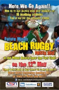Beach Rugby Fiesta 2013 on 12th May 2013