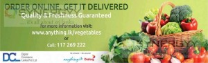 Buy Vegetables by anything.lk now