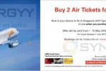 Buy one Air Tickets and Get one Free from Tiger Airways for HSBC Credit Cards – 1st May to 15th May 2013