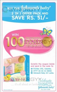 Buy the Johnson's Baby Cologne 2 in 1 offer pack and Save Rs. 51-
