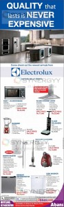 Electrolux features and Prices in Sri Lanka – May 2013