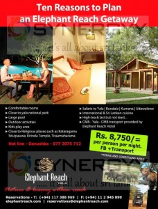 Elephant Reach Yala for Rs. 8,750.00 per Person per night