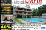 Enjoy 40% Discount from Sunday to Thursday at Hotel Okrin Kataragama
