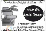 Godage Book Exhibition and Sale up to 10% to 40% from 20th May