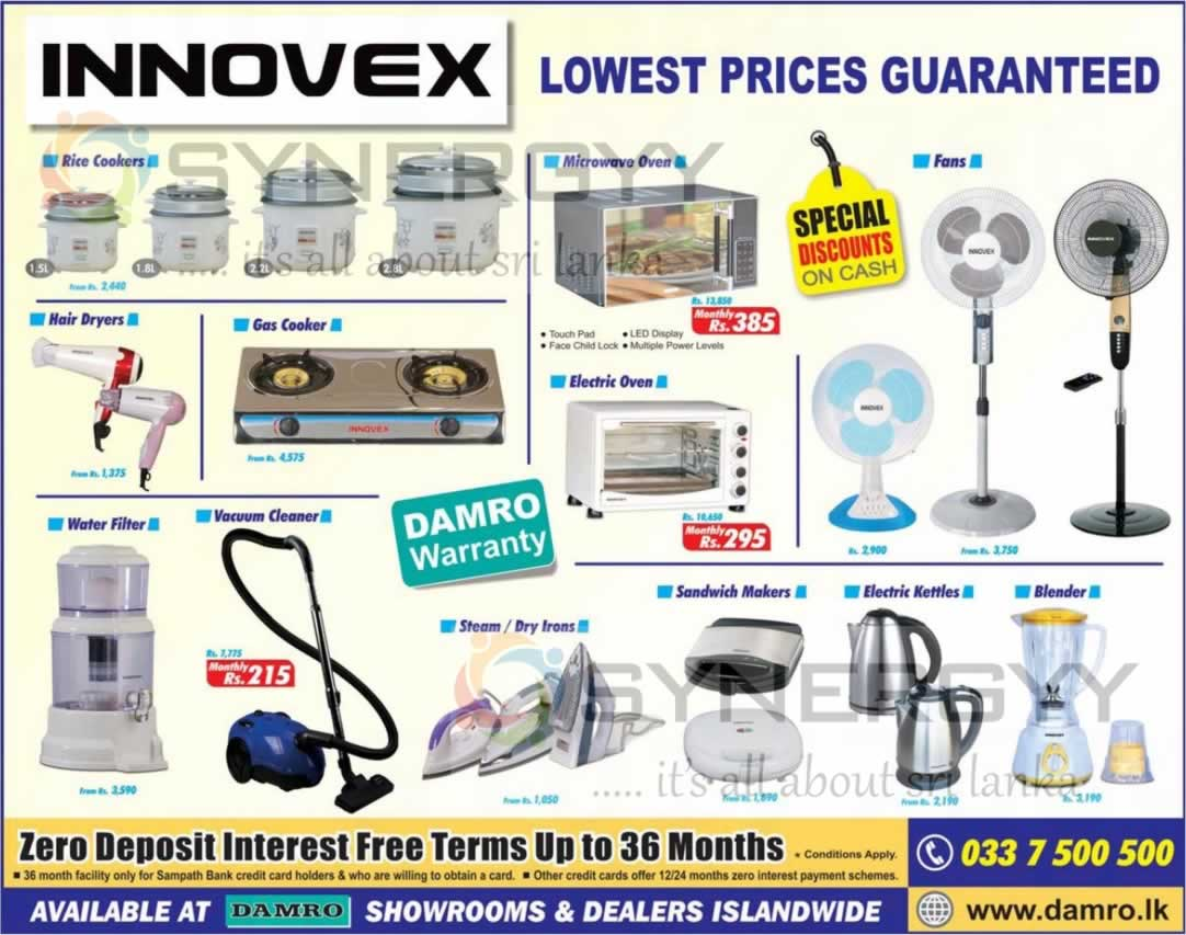 Innovex Electronic From Damro Sri Lanka May 2013 Synergyy