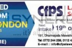 LLB Degree programme in Sri lanka (University of London) Commence on 19th May 2013 – cfps Law School