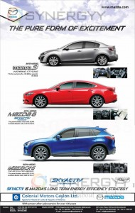 Mazda Cars & SUV Prices in Sri Lanka – Permit Holders Offer – May 2013