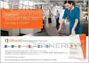 Microsoft Office 2013 for Just USD 150.00