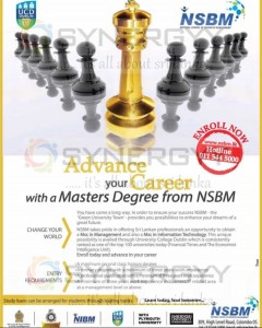 NSBM Master Degree Programmes – New enrolments open now