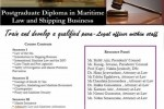 Postgraduate Diploma in Maritime Law and Shipping Business – CINEC