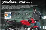 Pulsar 150 ug4.5 for Rs. 275,660.00 (All Inclusive)
