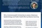 Scholarships for study Veterinary Epidemiology and Public Health MSc by distance learning – Applications open now till 17th May 2013