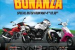 TVS Bonanza Special Offer from 4th to 30th May 2013