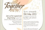 Therapy Nurses' Association of Sri Lanka All together Now – 11th May 2013