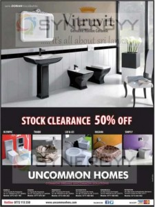 Uncommon Homes Stock Clarence Sales 50%