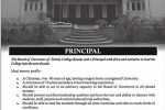 Vacancy for Principal of Trinity College, Kandy