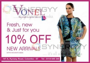 Vonel 10% off from the New Arrivals