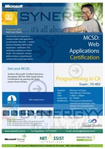 Web Application Certification - 19th May 2013