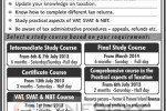 Taxation courses in Srilanka – June /July Commencement