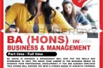 BA (Hons) in Business & Management Part time/ Full time by ICBT
