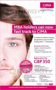 CIMA Qualification for MBA holders