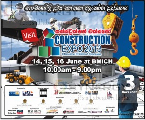 Construction Expo 2013 on going at BMICH