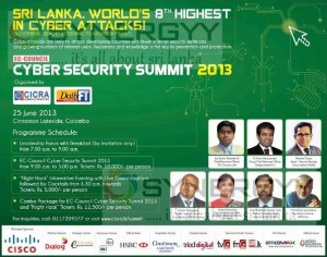 Cyber Security Summit 2013 - 25th June 2013