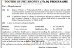 Doctor of Philosophy (Ph.D) Programme by University of Colombo