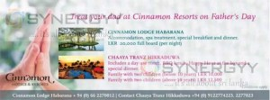 Father's Day Celebration at Cinnamon Resorts