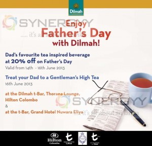 Father's Day Celebration with Dilmah