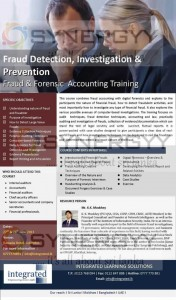 Fraud, Detection, Investigation & Prevention - Fraud & Forensic Accounting Training by Integrated Learning Solutions