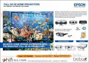 Full HD 3D Home Projectors in Sri Lanka