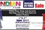 Indian Fair 1st & 2nd June 2013