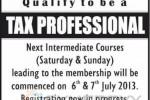 Intermediate Course of Tax Professional in Sri Lanka by  Sri Lanka Institute of Taxation