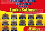Lanka Sathosa Price Reductions and Promotions – Weekend only