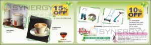 Nexus Offers at Barista and Hunters – Till June 2013