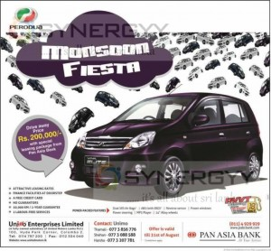 Perodua Elite Leasing with Pan Asia Bank – June 2013