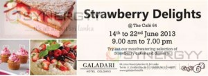 Strawberry Delights Promotion till 22nd June 2013