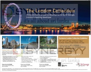 The London Collection Exhibition in Srilanka – 28th to 30th June 2013