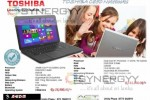 Toshiba C850 Notebooks for Rs. 43,900.00 onwards