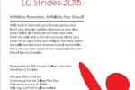 Viva Ladies College LC Strides 2013 – Walk on 29th June 2013